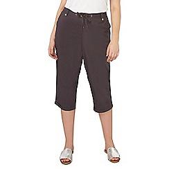 Dorothy Perkins - Curve poplin crop trousers