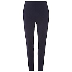 Dorothy Perkins - Curve navy bengaline trousers
