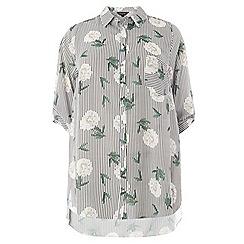 Dorothy Perkins - Stripe floral print shirt