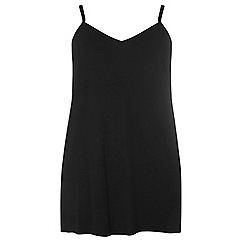 Dorothy Perkins - Dp curve black basic layering camisole top