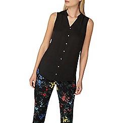 Dorothy Perkins - Black sleeveless shirt