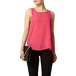 Dorothy Perkins - Hot pink built up sleeveless top