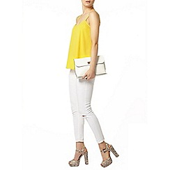 Dorothy Perkins - Yellow pleat camisole