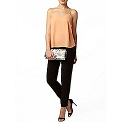 Dorothy Perkins - Apricot v front camisole