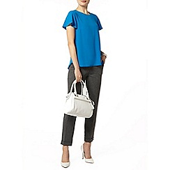 Dorothy Perkins - Blue split back t-shirt