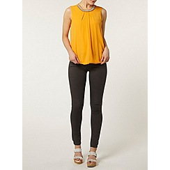 Dorothy Perkins - Orange embellished bubble top