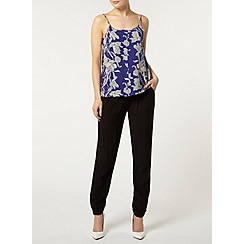 Dorothy Perkins - Blue floral button camisole