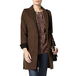 Dorothy Perkins - Coral ditsy print blouse
