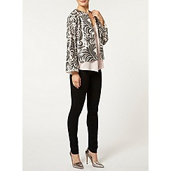 Dorothy Perkins - Nude and silver sequin jacket