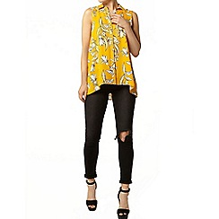 Dorothy Perkins - Orange tulip sleeveless shirt