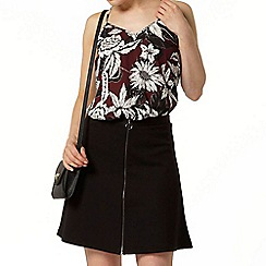 Dorothy Perkins - Purple print built up camisole