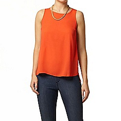 Dorothy Perkins - Red built up high neck camisole