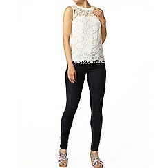 Dorothy Perkins - White crochet lace top