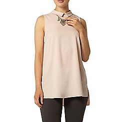 Dorothy Perkins - Blush collar tunic