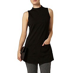 Dorothy Perkins - Black textured tunic