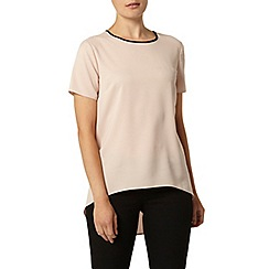 Dorothy Perkins - Blush curve hem top