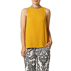Dorothy Perkins - Yellow daisy embellished top
