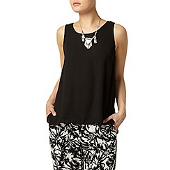 Dorothy Perkins - Black built up camisole