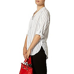 Dorothy Perkins - Stripe pussybow blouse