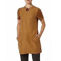 Dorothy Perkins - Camel suedette tunic