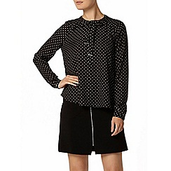 Dorothy Perkins - Spot print tie pussybow blouse