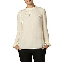 Dorothy Perkins - Stone high neck blouse