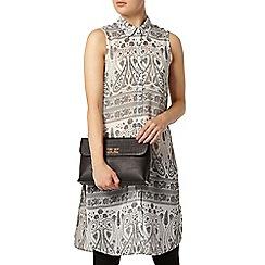 Dorothy Perkins - Ivory paisley long line shirt