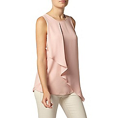 Dorothy Perkins - Blush asymetirc sleeveless top