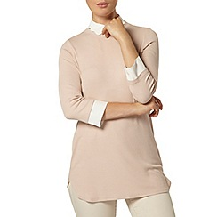 Dorothy Perkins - Blush scallop collar top