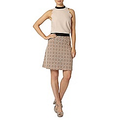 Dorothy Perkins - Blush scallop sleeveless top
