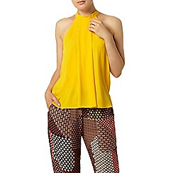 Dorothy Perkins - Yellow high neck top