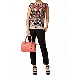 Dorothy Perkins - Paisley border t-shirt