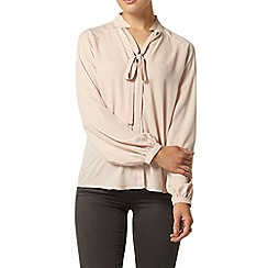 Dorothy Perkins - High neck pussybow blouse