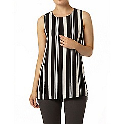 Dorothy Perkins - Black and white stripe tunic