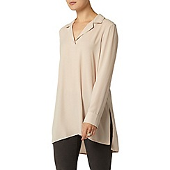 Dorothy Perkins - Stone long line shirt