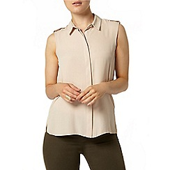 Dorothy Perkins - Stone tab sleeveless shirt