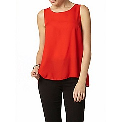 Dorothy Perkins - Red built up camisole top