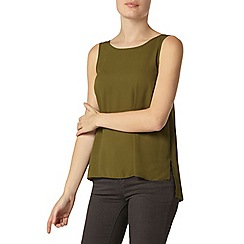 Dorothy Perkins - Olive built up camisole