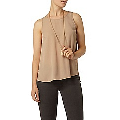 Dorothy Perkins - Stone built up camisole top