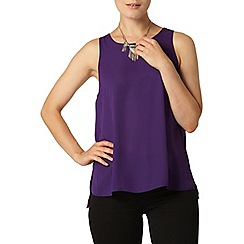 Dorothy Perkins - Purple built up camisole top