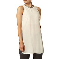 Dorothy Perkins - Blush embellished tunic