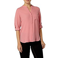 Dorothy Perkins - Pink scallop pocket shirt