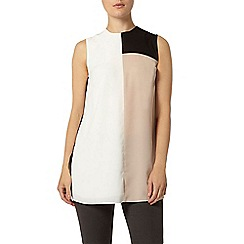 Dorothy Perkins - Colour block tunic