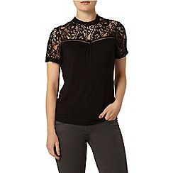 Dorothy Perkins - Black sleeveless jersey top