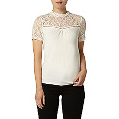 Dorothy Perkins - Ivory sleeveless jersey top