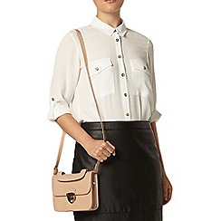 Dorothy Perkins - Ivory button detail shirt