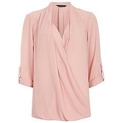 Dorothy Perkins - Blush wrap blouse