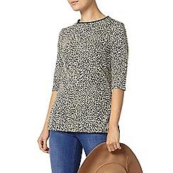 Dorothy Perkins - Leopard print long line top