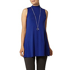 Dorothy Perkins - Blue sleeveless tunic