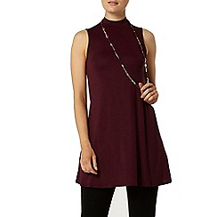 Dorothy Perkins - Mulberry sleeveless tunic